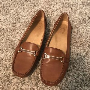 Naturalizer Sidney, Mid Brown loafers